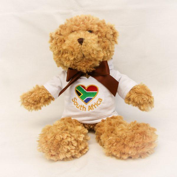 Bramble Bear in SA hoodie